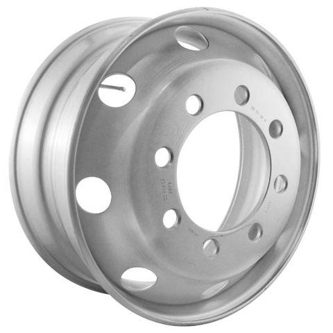 22.5 x 8.25, 8 Stud, 32mm J-Budd, 285mm PCD, Steel Wheel