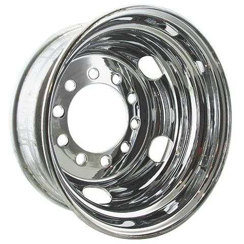 17.5 x 6.75, 10 Stud, 24mm, 225mm PCD, Steel Wheel