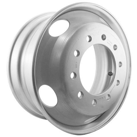 22.5 x 9.0, 10 Stud, 24mm, 285mm PCD, Steel Wheel