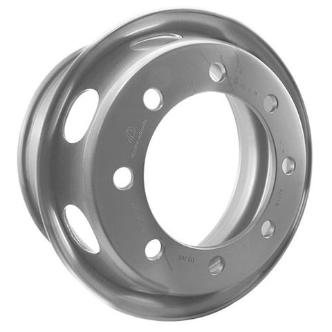 17.5 x 6.75, 8 Stud, 24mm, 275mm PCD, Steel Wheel