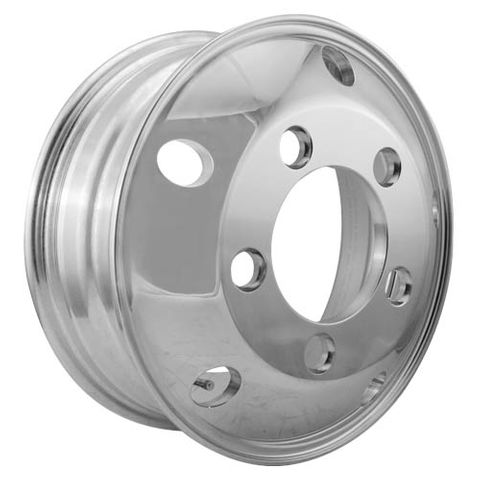 16 x 5.5, 5 Stud, 32mm J-Budd, 208mm PCD, Machined Alloy Wheel