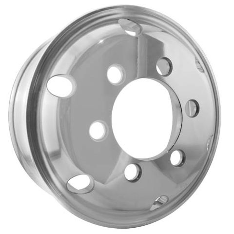 17.5 x 6.0, 6 Stud, 32mm J-Budd, 222.25mm PCD, Machined Alloy Wheel