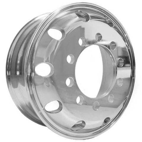17.5 x 6.0, 10 Stud, 24mm, 225mm PCD, Premium Alloy Wheel