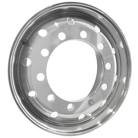 22.5 x 11.75, 10 Stud, 32mm, 335mm PCD, Machined Alloy Wheel