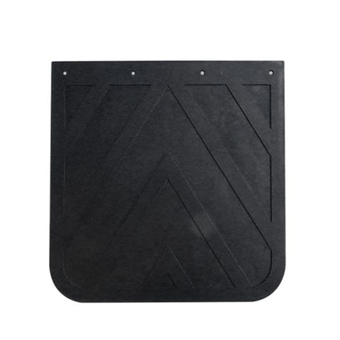 24x24 Black Mud Flap - Rubber