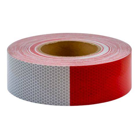 Reflective Tape Red/White