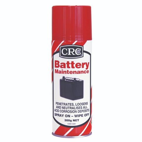 CRC Battery Maintenance