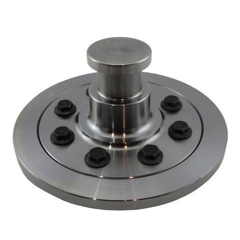 50mm King Pin + Retention Plate & Bolt Set - 12mm