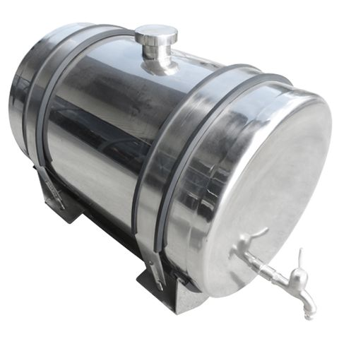 50L Polished Stainless Steel Water Tank