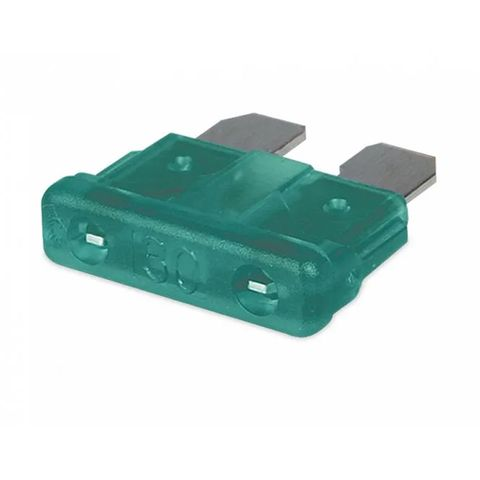 Hella Blade Fuse - Green - 30A (10 Pack)