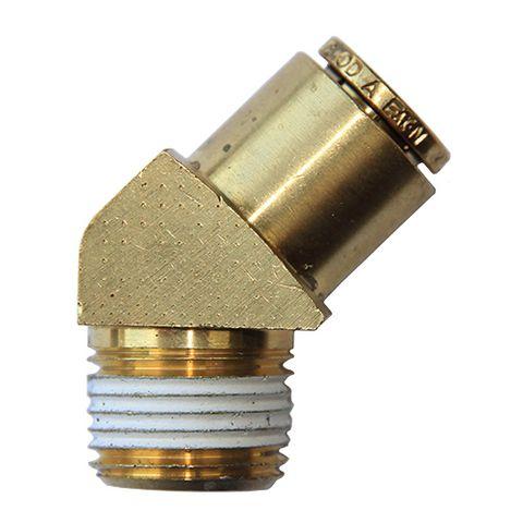 DMPL Male Connector 45 Elbows