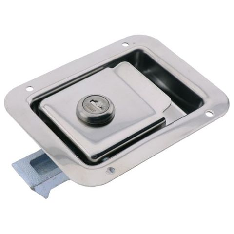 Lockable Paddle Latch