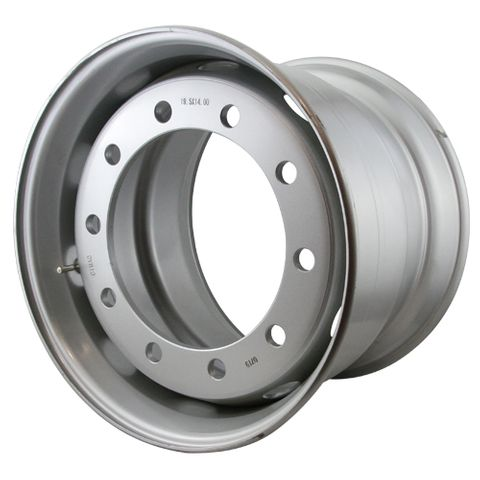 19.5 x 14, 10 Stud, 26mm, Steel Wheel