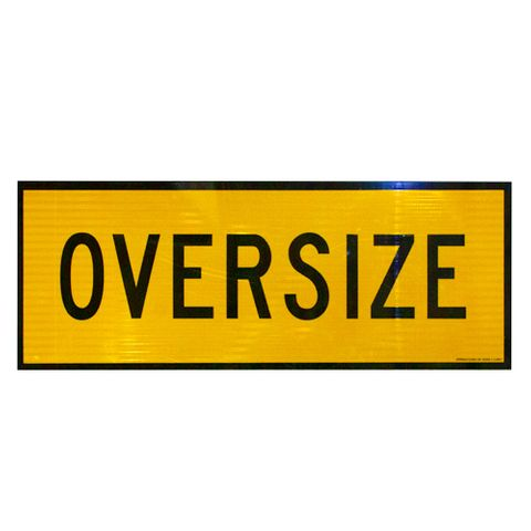 Oversize Sign 1200 x 450 - Alloy