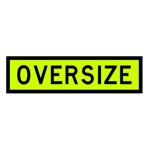 Oversize Sign 1100 x 300 - Alloy