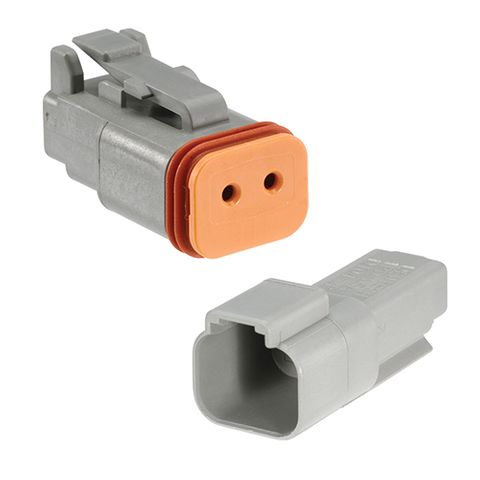 2 Way Waterproof Deutsch Connector Housing Kit (2 Pack)