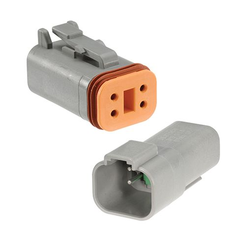 4 Way Waterproof Deutsch Connector Housing Kit (2 Pack)