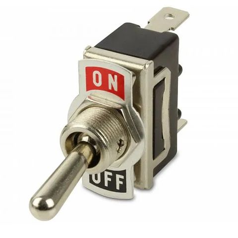 Hella Toggle Switch Off-On Metal Shaft and Label