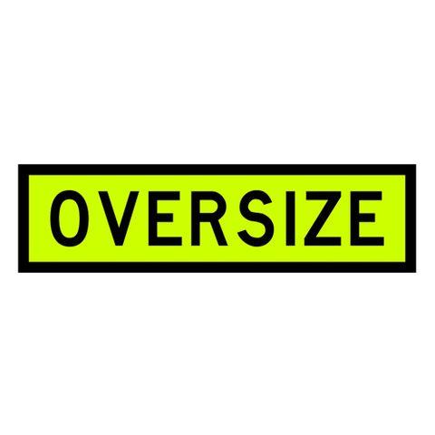 Oversize Sign 1100 x 300 - PVC