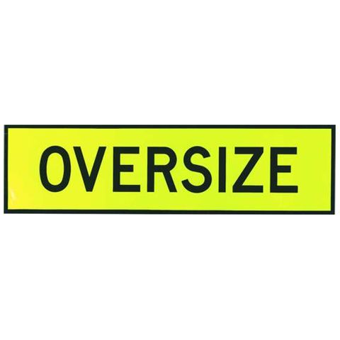 Oversize Sign 1100 x 300 - Sticker