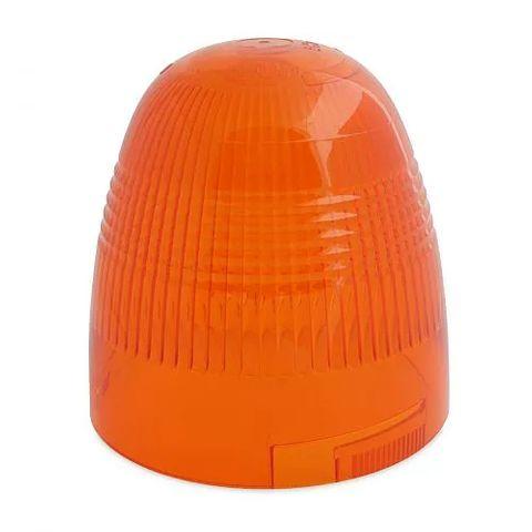 Hella Amber Polycarbonate Lens - Suit Rotaflex / Rotafix Revolving Beacon
