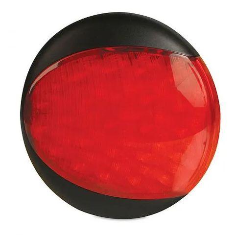 Hella EuroLED Signal Warning Lamp - 24 Volt - Red