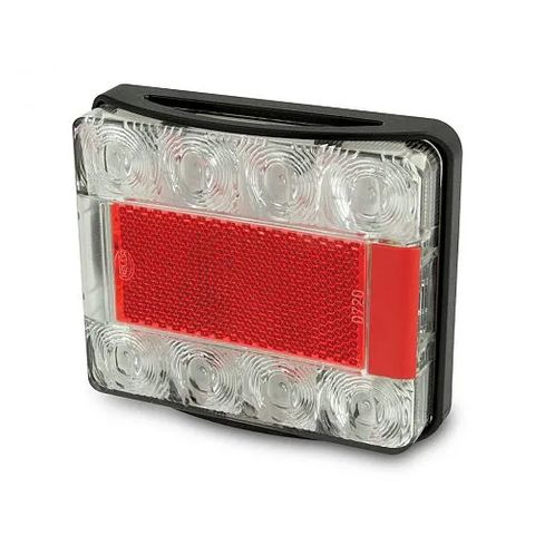 Hella LED Stop/Rear Position/Rear Direction Indicator Lamp with Number Plate Function - 6M Cable
