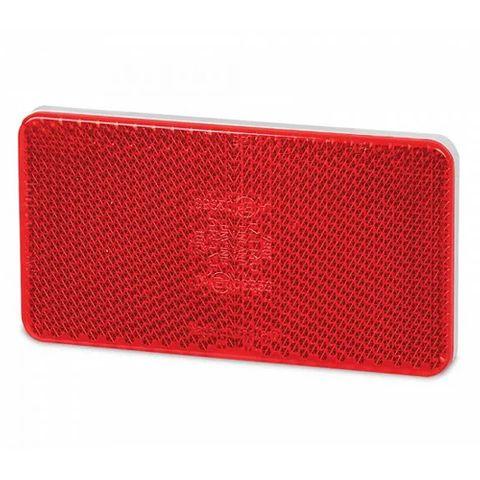 Hella Retro Reflector - 105 x 55mm - Red