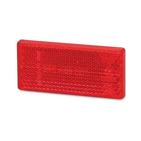 Hella Retro Reflector - 70 x 32mm - Red