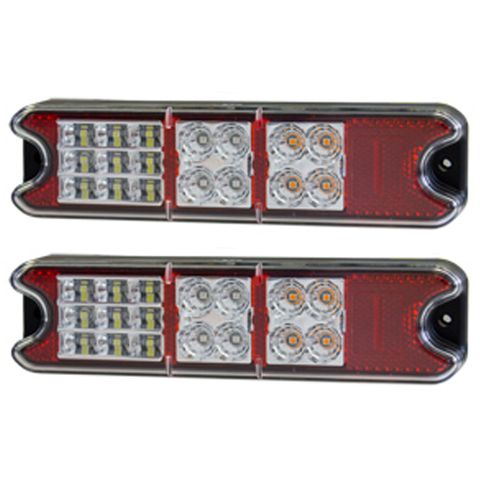 Whitevision CRL129 Combination Trailer Lamp (Twin Pack)