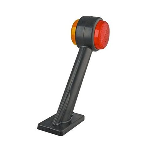 LED 1004 Series Red/Amber Side Marker Right
