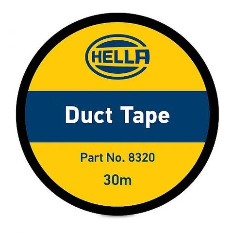 Hella Duct Tape - Black - 48mm x 30m