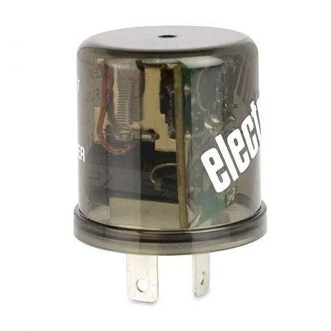 Electronic Flasher Unit - 12V 2 Pin High Capacity