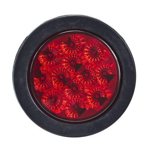 "Hella ValueFit 4"" LED Stop/Tail/Turn Lamp, Red"
