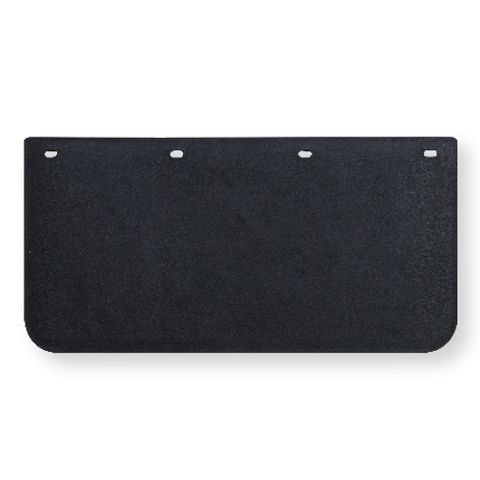 24x12 Black Mud Flap - Plastic