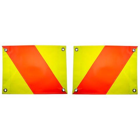 Hazard Panels 400 x 300 (Pair) - Flags