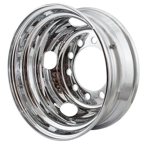 17.5 x 6.0, 10 Stud, 26mm, 225mm PCD, Steel Wheel