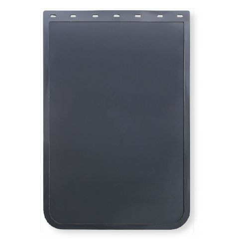 24x36 Black Mud Flap - Rubber Anti Spray