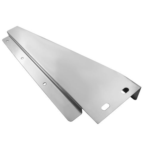 Stainless Steel Tapered Mudflap Bracket RH