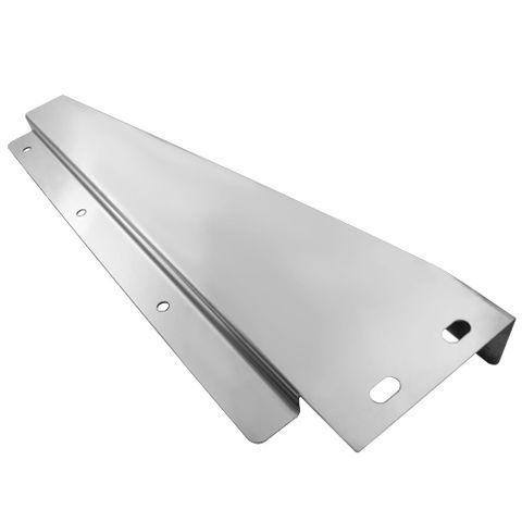 Stainless Steel Tapered Mudflap Bracket RH