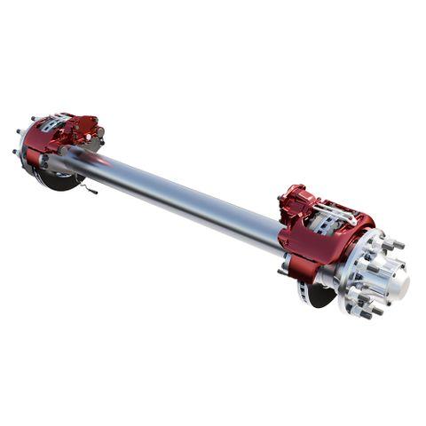 MTE 19.5 Axle - AL3845R127