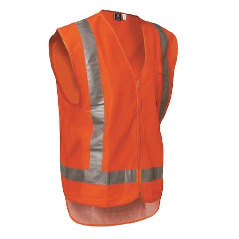 Protex Hi Vis Safety Vest - Day/Night - L