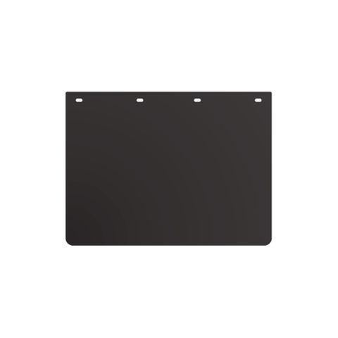 "24 x 18"" Black Mud Flap - Plastic"