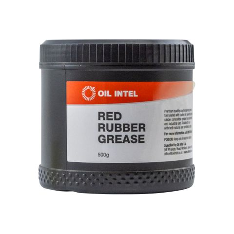 Total Red Rubber Grease