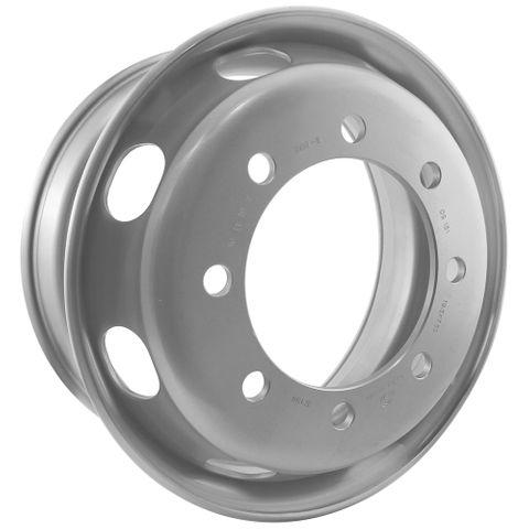 19.5 x 7.5, 8 Stud, 24mm, 275mm PCD, Steel Wheel