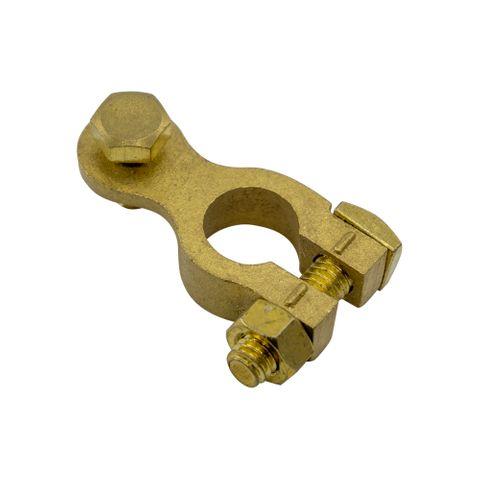 Brass Negative Battery Terminal - BT142 8mm Bolt