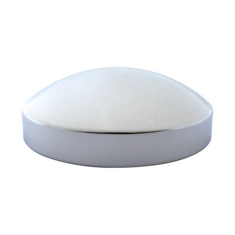 "Hub Cap Rear 8"" Dome"