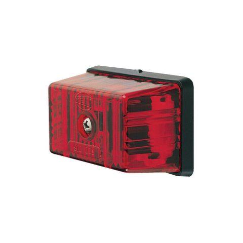 Hella 2045 Red Marker Lamp
