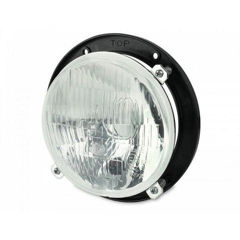 Hella 139mm H4 Headlamp with Frame