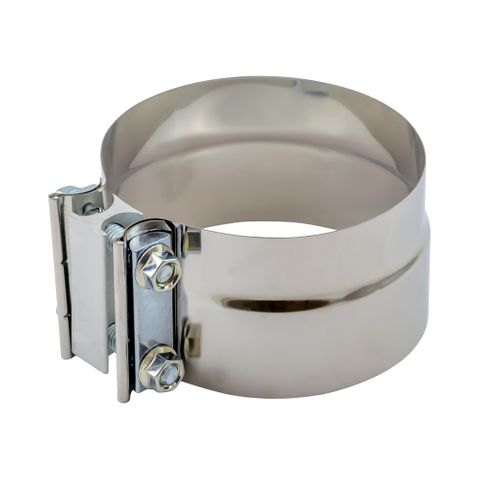 """Exhaust Lap Clamp 5"""" Stainless Steel"""